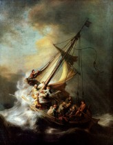 Christ on the Storm On the Sea of Galilee Rembrandt van Rijn, 1632