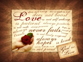 1corinthians13 love never fails