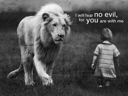 king jesus fear no evil