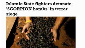 Wow! Wow! Wow!! Seriously Chilling! Jaw Dropping! Prophecy!!! Islamic State Fighters Detonate 'SCORPION Bombs' in Terror Siege!!! Can You Believe This!!